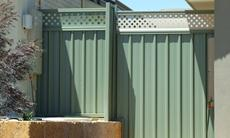 Colorbond Side Fence